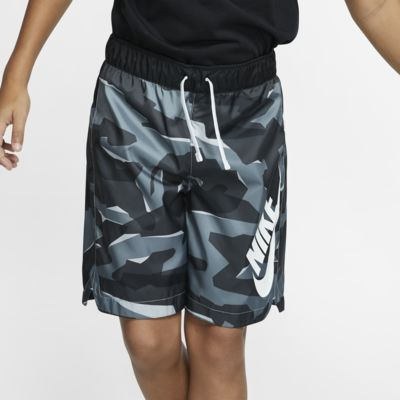 Nike Sportswear大童(男孩)迷彩梭织短裤