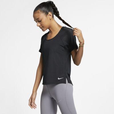Dámské běžecké tričko Nike Breathe Miler
