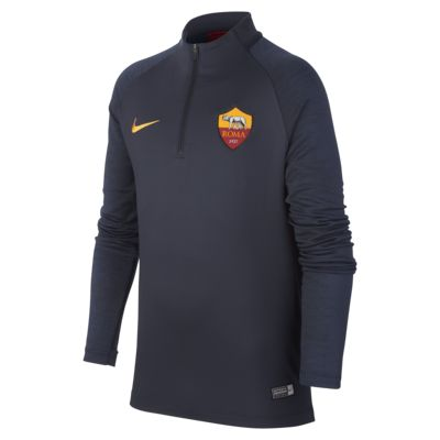 Nike Dri-FIT A.S. Roma Strike Older Kids' Football Drill Top