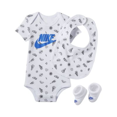 Tredelat set Nike för baby (0-9 mån)