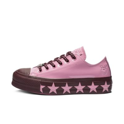 Converse x Miley Cyrus Chuck Taylor All Star Lift Faux Patent Low Top Women's Shoe