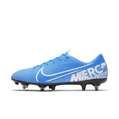 Nike Mercurial Vapor 13 Academy SG-PRO Anti-Clog Traction-fodboldstøvle til vådt græs
