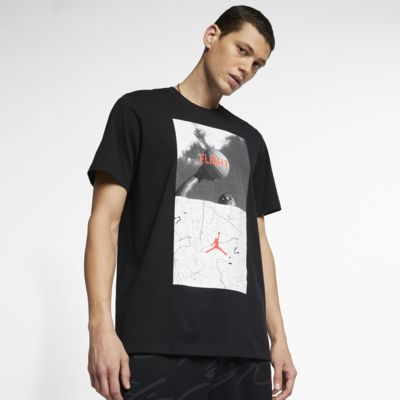 Jordan Legacy Flight Nostalgia AJ 4 Men's T-Shirt