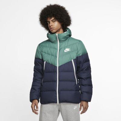 Nike Sportswear Windrunner-dunjakke med hætte og dunfyld