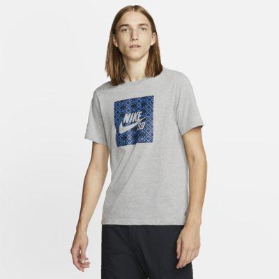 Nike SB Logolu Erkek Kaykay Tişörtü