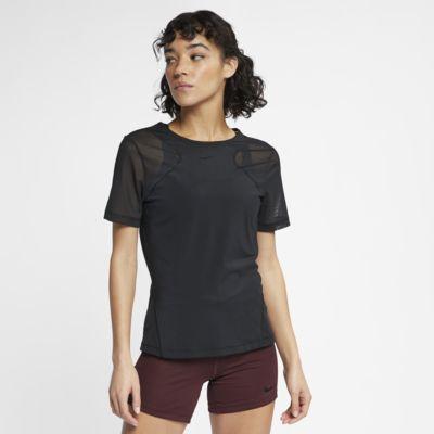 Nike Pro HyperCool rövid ujjú női felsőrész