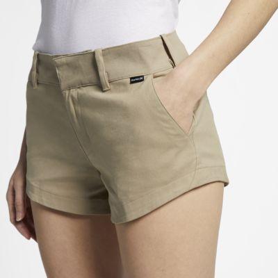 Hurley Lowrider Chino-Shorts für Damen