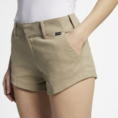 Short Chino Hurley Lowrider pour Femme