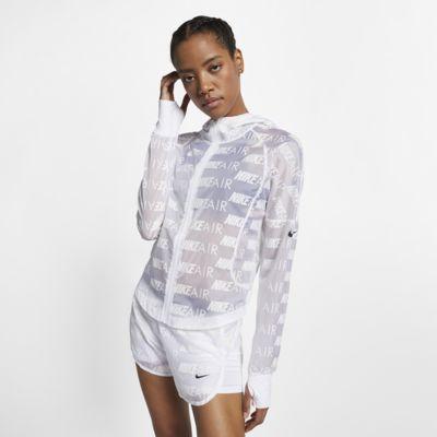 Nike Air Damen-Laufjacke mit Kapuze