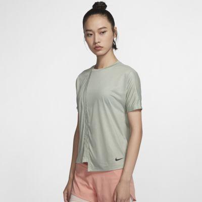 Nike 女子短袖跑步上衣