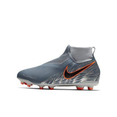 Nike Jr. Phantom Vision Academy Dynamic Fit MG többféle talajra készült stoplis futballcipő kisebb/nagyobb gyerekeknek