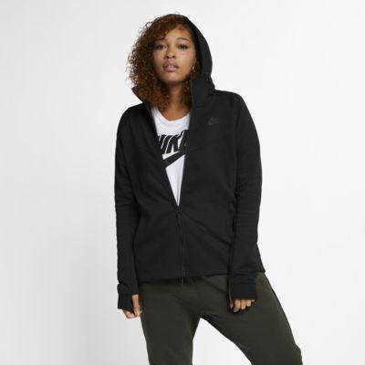Nike Sportswear Tech Fleece hettejakke for dame (store størrelser)