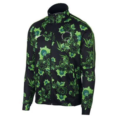 Nigeria Men's Full-Zip Football Jacket