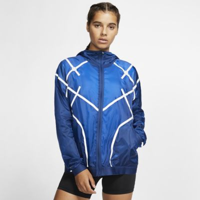 Nike City Ready-løbejakke med hætte til kvinder