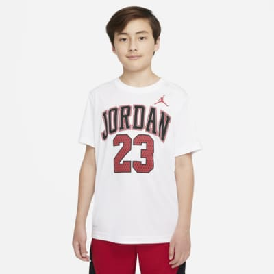 T-shirt com grafismo Jordan Dri-FIT 23 Júnior