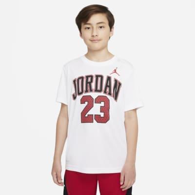 Tričko s grafickými motivy Jordan Dri-FIT 23 pro větší děti