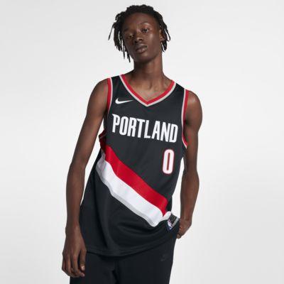 Pánský dres Nike NBA Swingman Damian Lillard Trail Blazers Icon Edition
