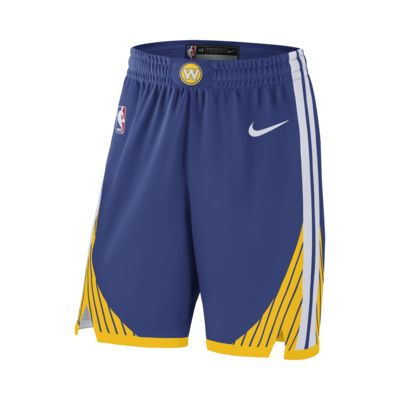 Golden State Warriors Nike Icon Edition Authentic Men's NBA Shorts