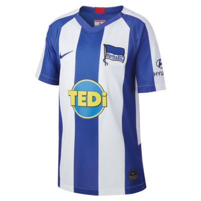 Hertha BSC 2019/20 Stadium Home Older Kids' Football Shirt