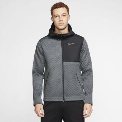 Veste de training à capuche et zip Nike Therma pour Homme