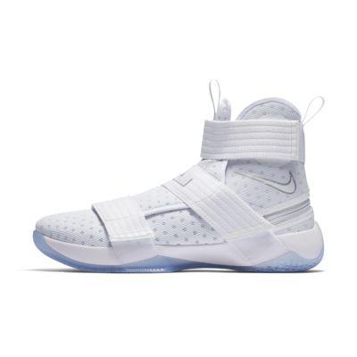 nike basketball shoes white. nike lebron soldier 10 flyease men\u0027s basketball shoe shoes white c