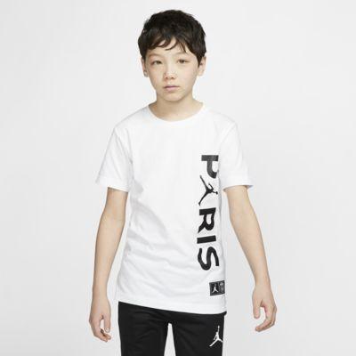 Tričko PSG pro větší děti (chlapce)