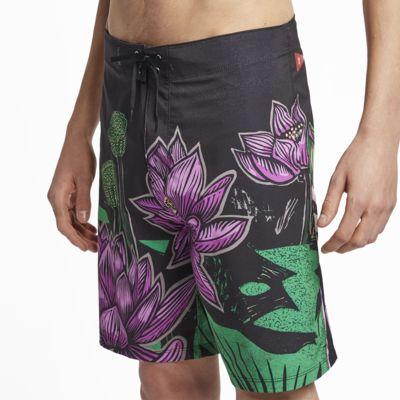 Shorts de playa de 48 cm para hombre Hurley JJF Phantom Lotus
