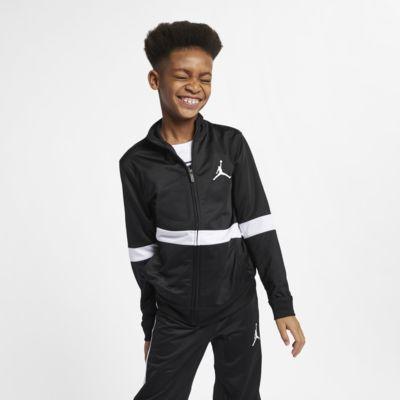 Kurtka z zamkiem na całej długości dla dużych dzieci (chłopców) Jordan Sportswear Diamond