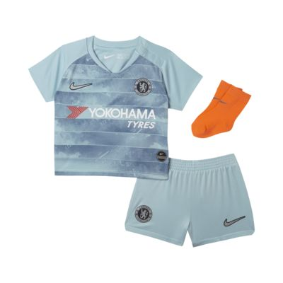 2018/19 Chelsea FC Stadium Third Baby and Toddler Football Kit
