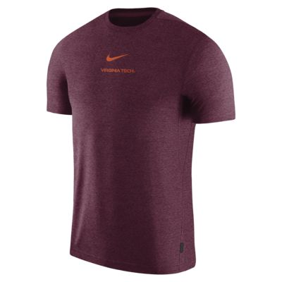 Nike College Dri-FIT Coach (Virginia Tech) Men's Short-Sleeve Top