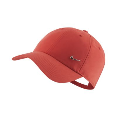 Nike Sportswear Metal Swoosh Logo Adjustable Hat