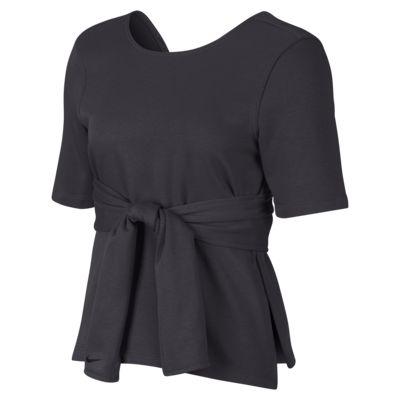 Nike Studio 女子短袖瑜伽训练上衣
