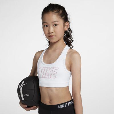Sujetador deportivo estampado para niña talla grande Nike Pro Classic