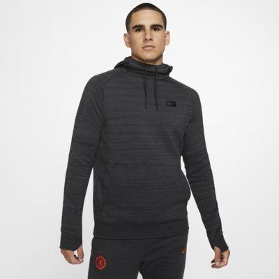 Sudadera con capucha sin cierre de tejido Fleece para hombre Chelsea FC