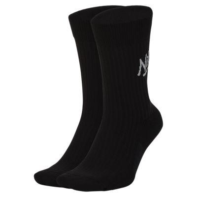 Nike Air SNKR Sox Crew Socks (2 Pairs)