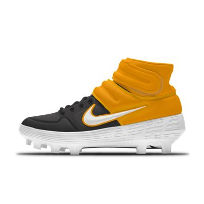 Chaussure de baseball à crampons personnalisable Nike Alpha Huarache Elite 2 Mid MCS By You