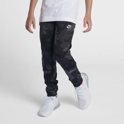 Pantalones de entrenamiento de camuflaje para niño talla grande Nike Air