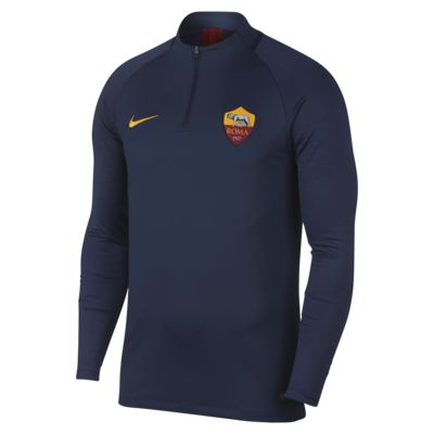 Męska, piłkarska koszulka treningowa Nike Dri-FIT A.S. Roma Strike