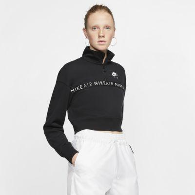 Haut à demi-zip Nike Air pour Femme