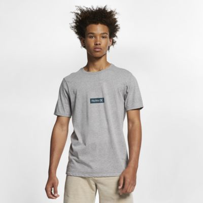 Hurley Premium One And Only Small Box Premium-Fit-T-Shirt für Herren