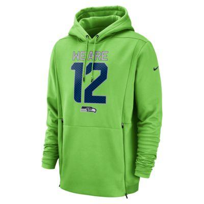 Nike Therma (NFL Seahawks) Men's Hoodie