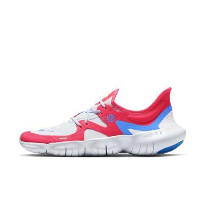 Мужские беговые кроссовки Nike Free RN 5.0, Red Orbit/Серый футбольный/Белый/Легендарный синий, 23219853, 12629247  - купить со скидкой