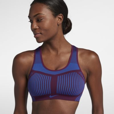 Sport-BH Nike FE/NOM Flyknit med mycket stöd för kvinnor