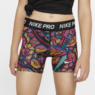 Pantaloncini stampati Nike Pro - Ragazza