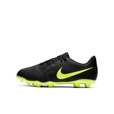 Nike Jr. Phantom Venom Club FG-fodboldstøvle til børn (græs)