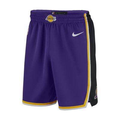 Los Angeles Lakers Statement Edition Swingman Nike NBA-Shorts für Herren