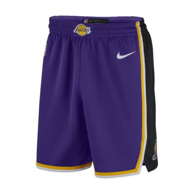 Short Nike NBA Los Angeles Lakers Statement Edition Swingman pour Homme