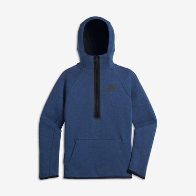 Sudadera con capucha para niños talla grande Nike Sportswear Tech Fleece