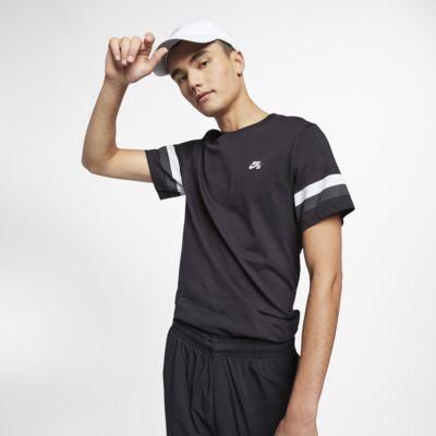 T-shirt da skate a righe Nike SB - Uomo
