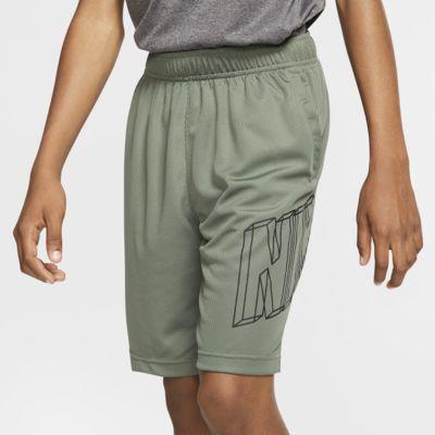 Αγορίστικο σορτς προπόνησης με σχέδιο Nike Dri-FIT